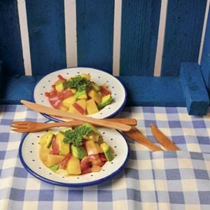 Avocado mango salade