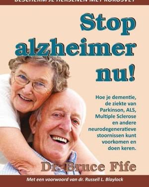 Stop Alzheimer nu!