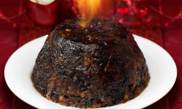 Engelse kerstpudding